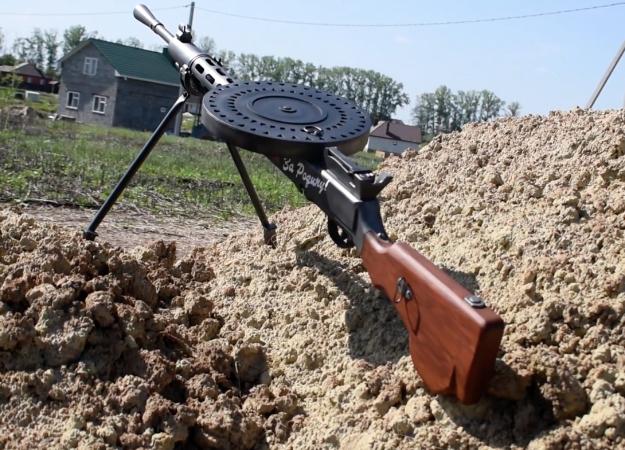 Конкурс к9мая: получи реалистичную модель пулемета Дегтярева!
