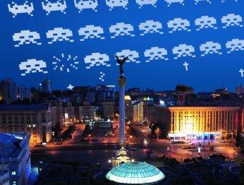Арт вместо борща: репортаж с #GamesNightKiev