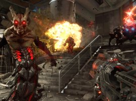 Создатели Doom Eternal показали 48 минут геймплея и проговорились о хабе в игре