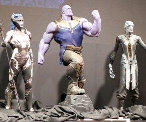 Устрашающе! Слуги Таноса нановом арте «Мстителей: Войны Бесконечности» [обновлено]