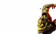 Халк раздает на орехи своему «конкуренту»
