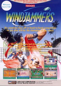 WindJammers – фото обложки игры