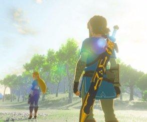 Zelda: Breath of the Wild выглядит лучше в портативном режиме