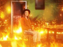 Монеточка призвала бороться слесными пожарами новой песней «Гори гори гори»
