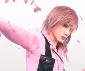 Лайтнинг из Final Fantasy рекламирует новую коллекцию Louis Vuitton
