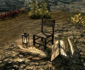 Гифка дня: накакой стул сядешь вThe Elder Scrolls 5: Skyrim?