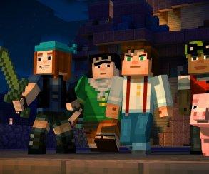 Первый эпизод Minecraft: Story Mode выйдет в конце октября