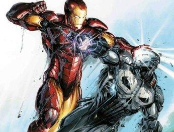 Каратель вброне Железного человека против вселенной Marvel: кто кого?