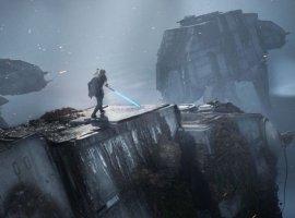 EAподелилась расширенным геймплеем Star Wars Jedi: Fallen Order. Внем герой угоняет шагоход