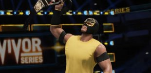 WWE 2K18. Режим New Road To Glory Mode