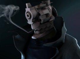 Вновом трейлере аниме NoGuns Life углавного героя вместо головы— револьвер. Разве это некруто?!