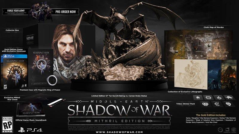 Кадры изутекшего трейлера Middle Earth: Shadow ofWar | Канобу - Изображение 2916