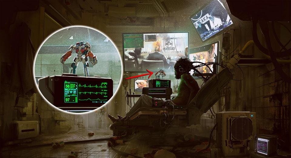 ВСети появились новые концепты Cyberpunk 2077. Фанаты тутже принялись ихрасшифровывать. - Изображение 8