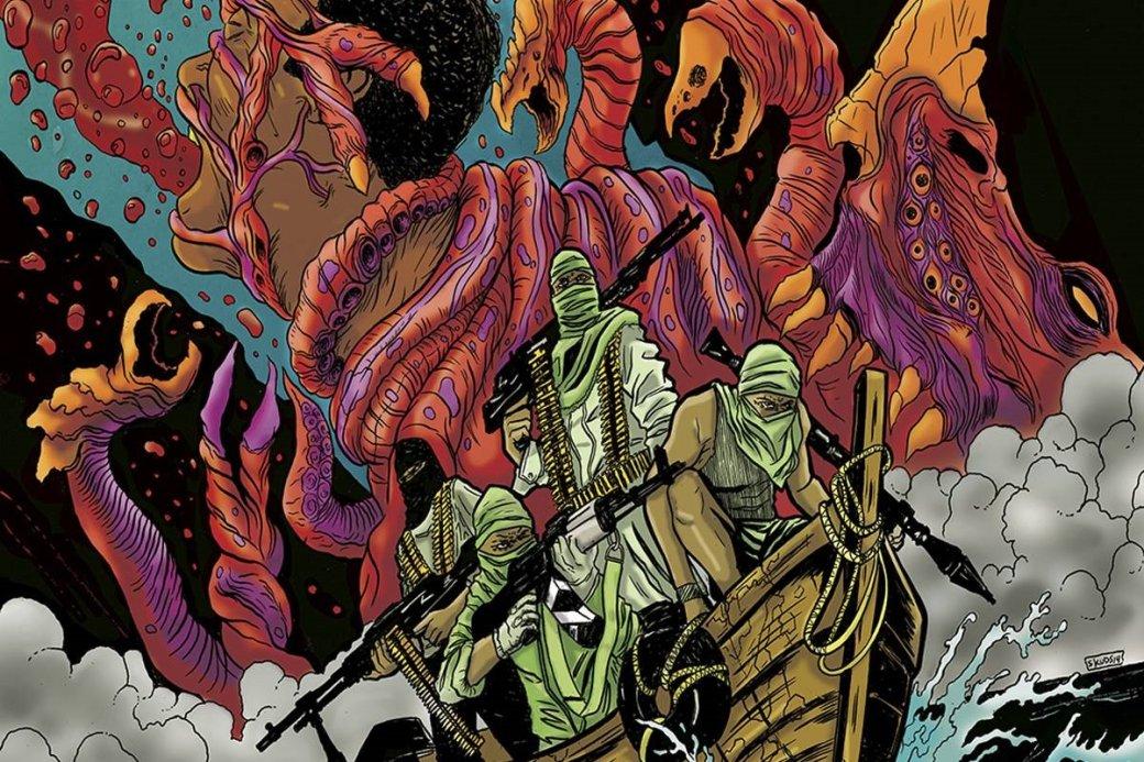 Сомалийские пираты против чудищ. Чем комикс Plunder напоминает старые хорроры про монстров | Канобу