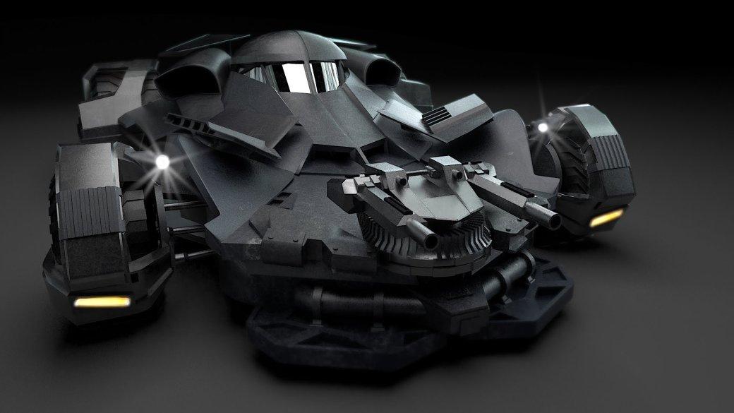 История бэтмобиля: все машины Темного Рыцаря | Канобу - Изображение 5066