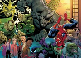 Лучшие обложки комиксов Marvel иDC2018 года