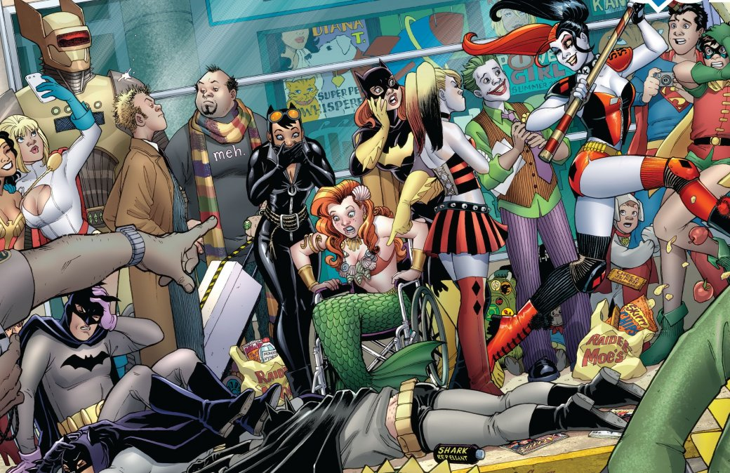 Тест Канобу: самые безумные факты о супергероях | Канобу - Изображение 36