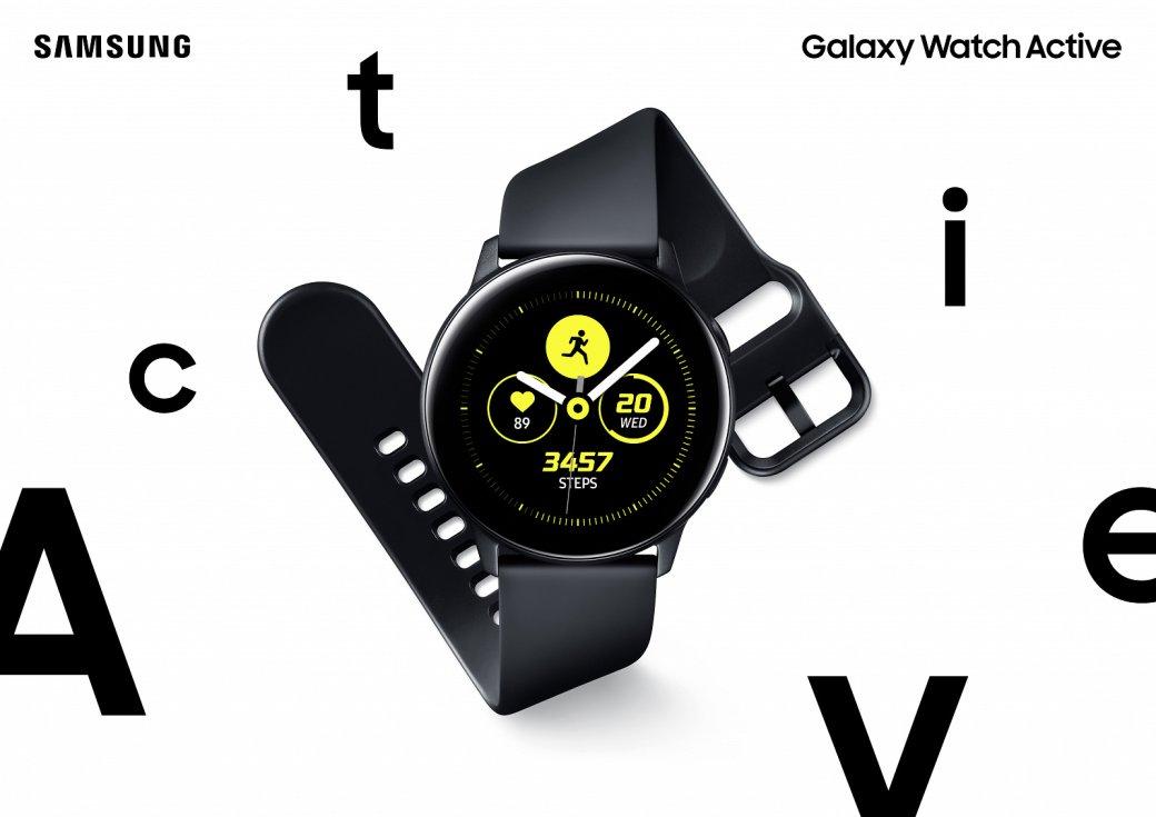 Анонс Samsung Galaxy Watch Active: обновленный дизайн, защита отводы ипосредственная начинка | Канобу - Изображение 11478