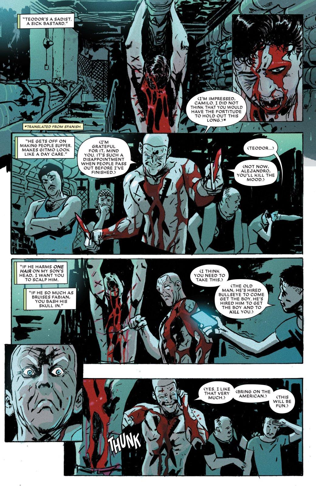 Издательство Marvel выпустило новый комикс про наемника Меченого | Канобу - Изображение 7905