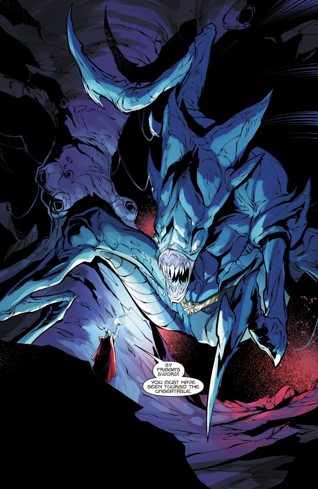 Скем изачем сражаются Тор иХалк вновом комиксе Marvel?. - Изображение 4