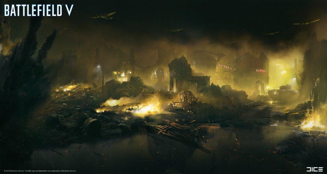 Взгляните на атмосферные концепт-арты и иллюстрации по Battlefield V   Канобу - Изображение 267