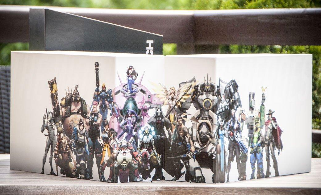 Распаковка коллекционного издания Overwatch | Канобу