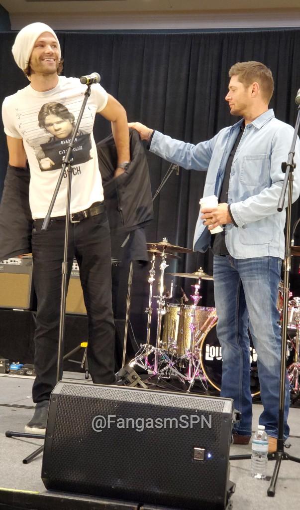Джаред Падалеки посмеялся над своим арестом насъезде фанатов «Сверхъестественного»