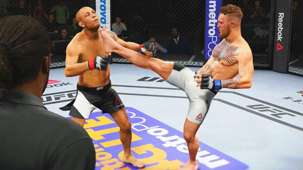 Гифка дня: мастерский захват вEASports UFC2 | Канобу - Изображение 7696