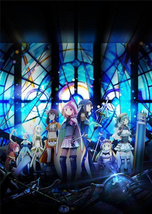 Девочки-волшебницы снова страдают втрейлере аниме Puella Magi Madoka Magica Side Story