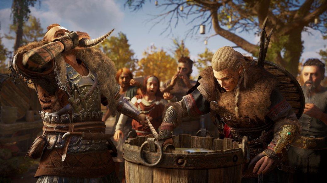 5 часов сAssassin's Creed: Valhalla. Серию больше непытаются превратить вRPG— иэто здорово | Канобу - Изображение 7283