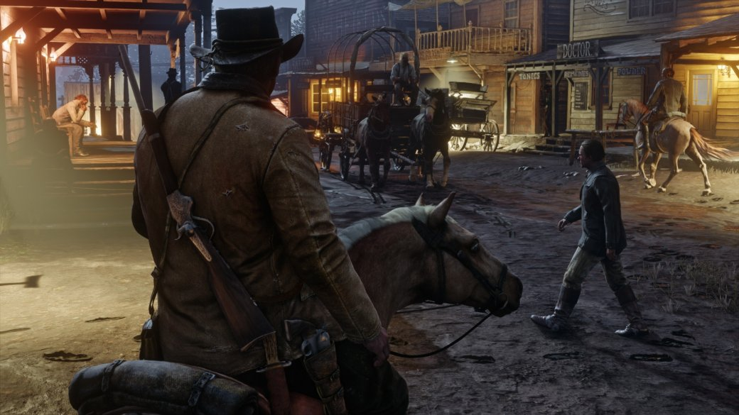 Разработчики Red Dead Redemption 2 опубликовали постеры с главными героями — там и Голландец есть!. - Изображение 1