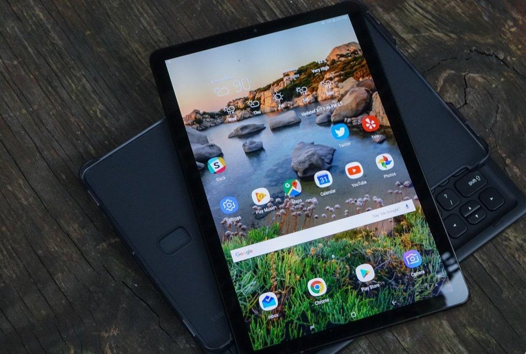 Опубликовано первое фото флагманского планшета Samsung Galaxy Tab S5E   Канобу - Изображение 1