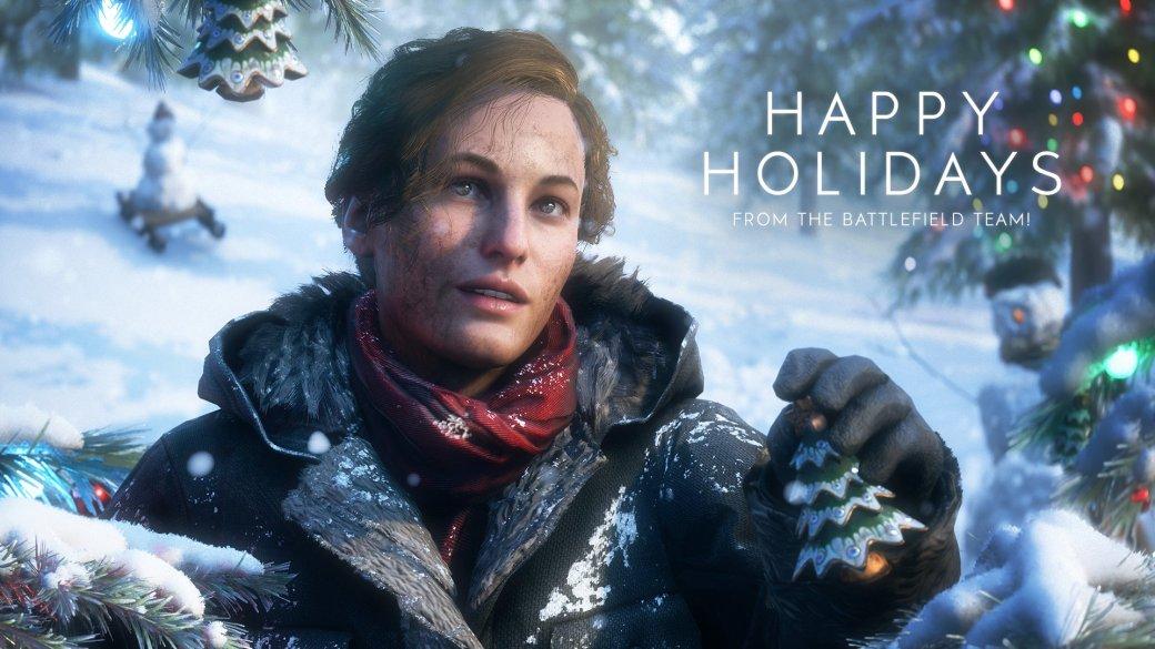 Издатели иразработчики поздравляют игроков сНовым годом иРождеством. Подборка открыток | Канобу - Изображение 6934