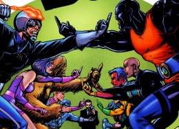 Первый взгляд нарусское издание сатирического ихулиганского комикса «Пацаны»