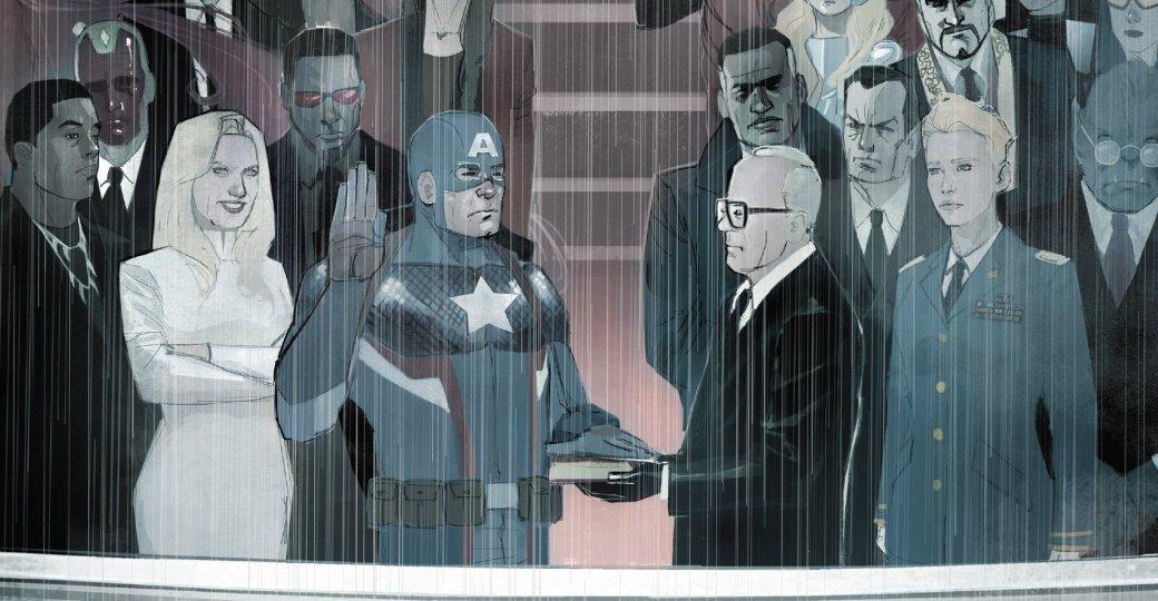 Капитан Америка как лидер Гидры. Галерея ярких моментов Secret Empire | Канобу - Изображение 10