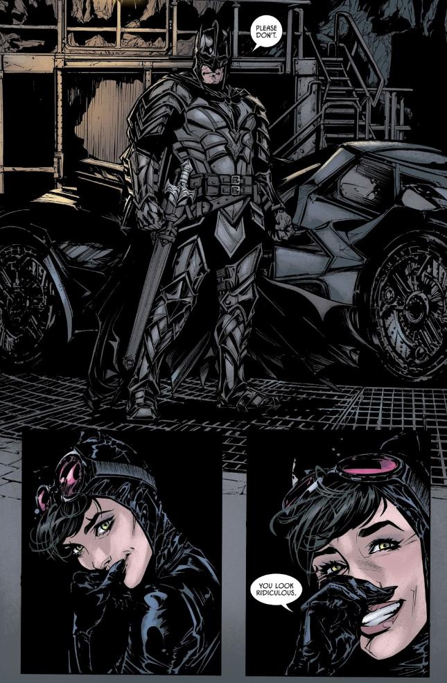 Вновом номере «Бэтмена» Темный рыцарь надел настоящие доспехи, чтобы сразиться сдемонами. - Изображение 1