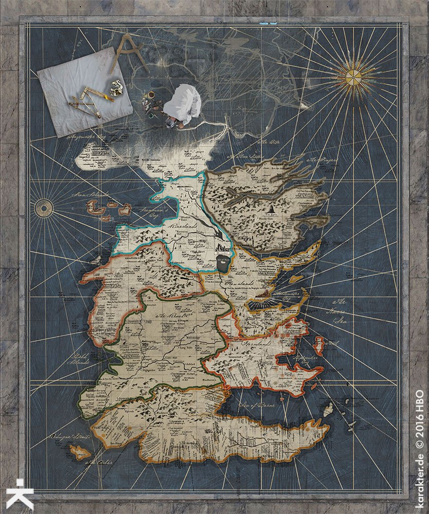 Взгляните напотрясающие концепт-арты 7 сезона «Игры престолов». - Изображение 10