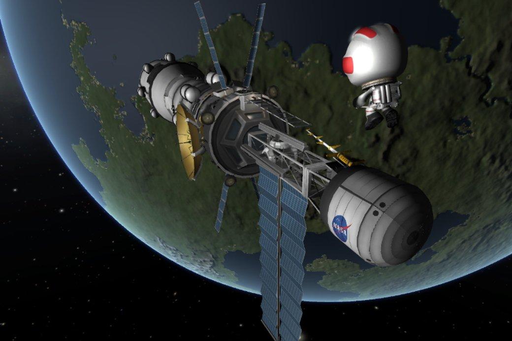 Гифка дня: трудности освоения космоса напримере Kerbal Space Program. - Изображение 1