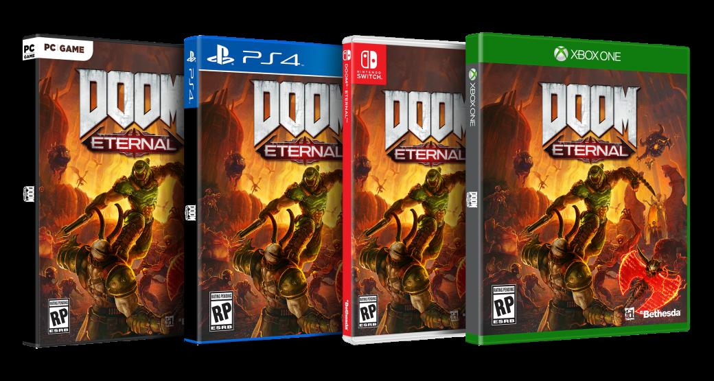 Создатели Doom Eternal показали несколько постеров и пачку скриншотов игры | Канобу - Изображение 4
