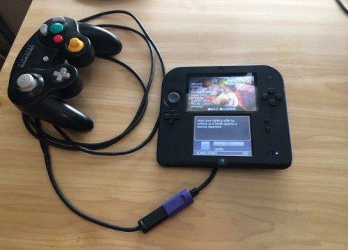 Геймпад GameCube приспособили для 2DS