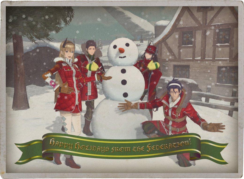 Разработчики поздравляют игроков с Рождеством. Подборка праздничных открыток   Канобу - Изображение 12505