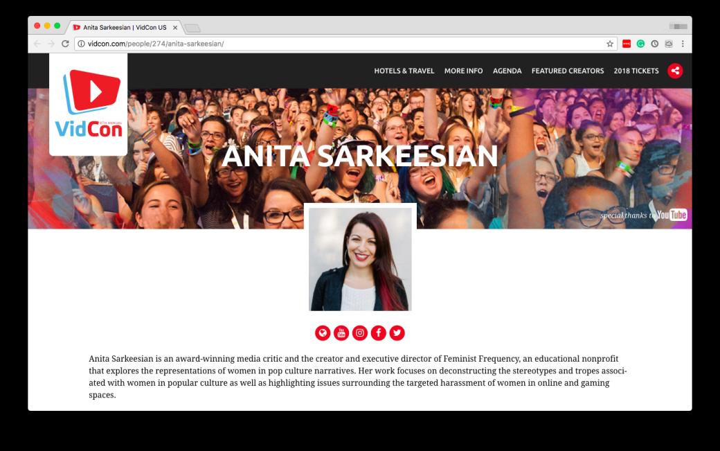 Анита Саркисян — о харассменте и людях, которые зарабатывают на травле | Канобу - Изображение 1