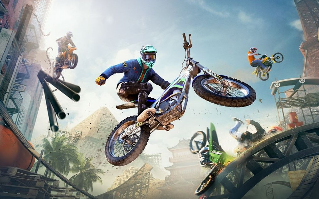 Обзор Trials Rising - рецензия на игру Trials Rising   Рецензии   Канобу