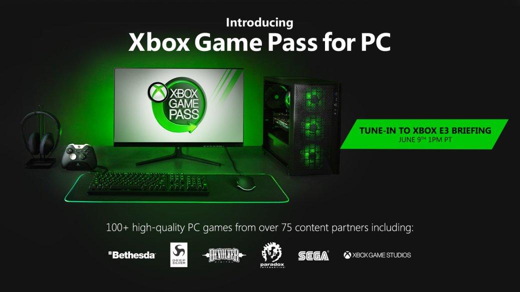 Xbox Game Pass появится на ПК. А Gears 5 и другие игры Microsoft теперь будут выходить в Steam | Канобу - Изображение 0