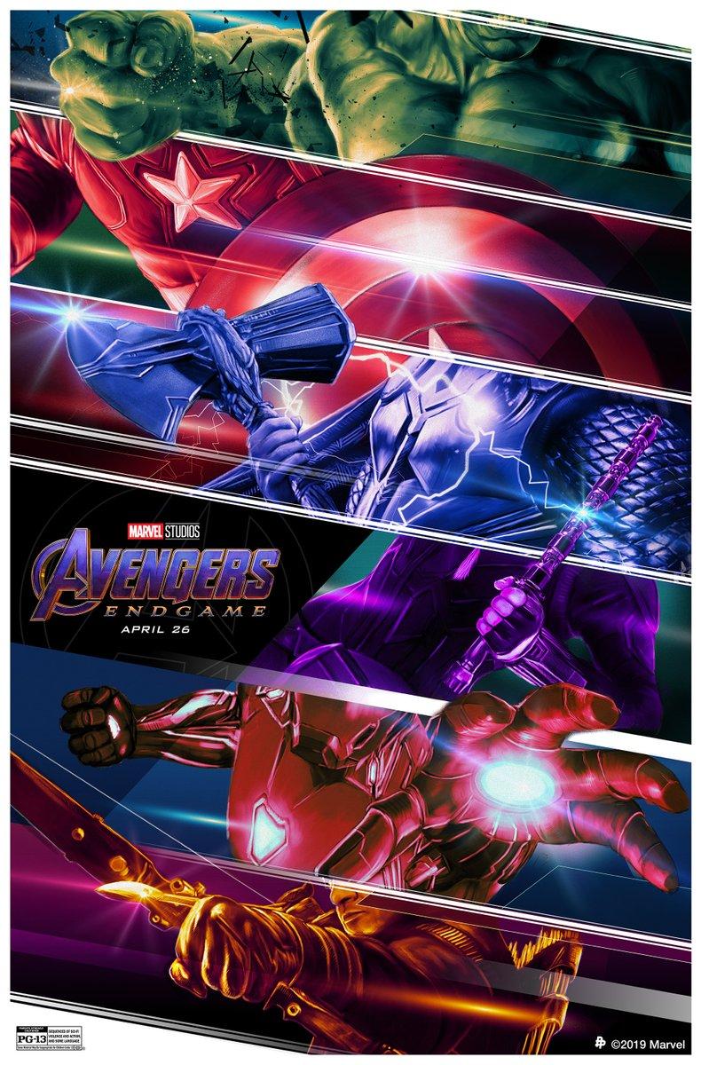 Новый постер «Мстителей: Финал» посвятили оружию супергероев | Канобу - Изображение 2