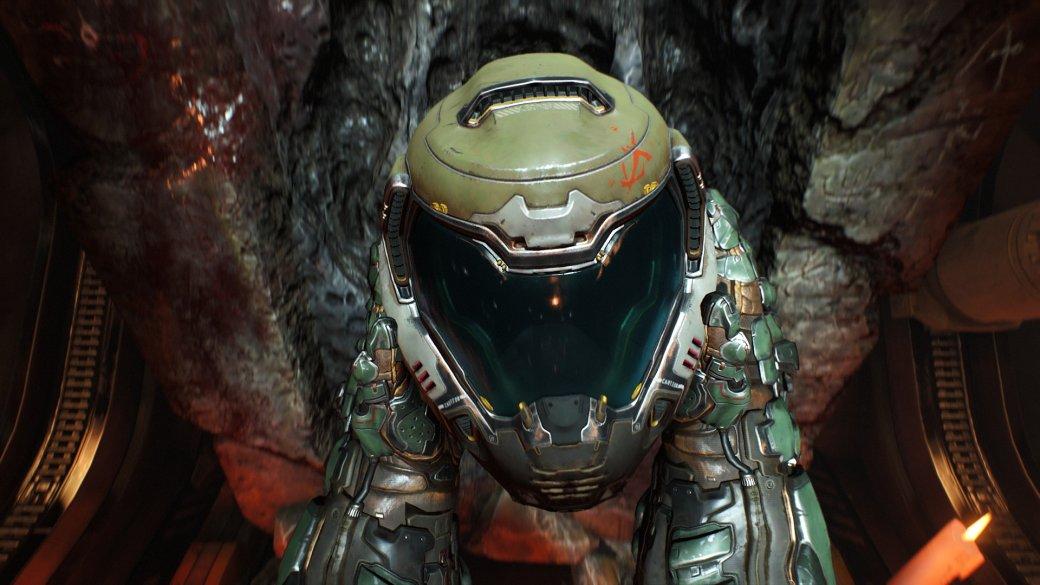 Что скрывает от игрока камера в новой Doom? Безголового героя, например! | Канобу - Изображение 1