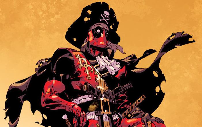 Галерея. Супергерои Marvel иDCввиде пиратов: Бэтмен, Дэдпул, Существо идругие   Канобу
