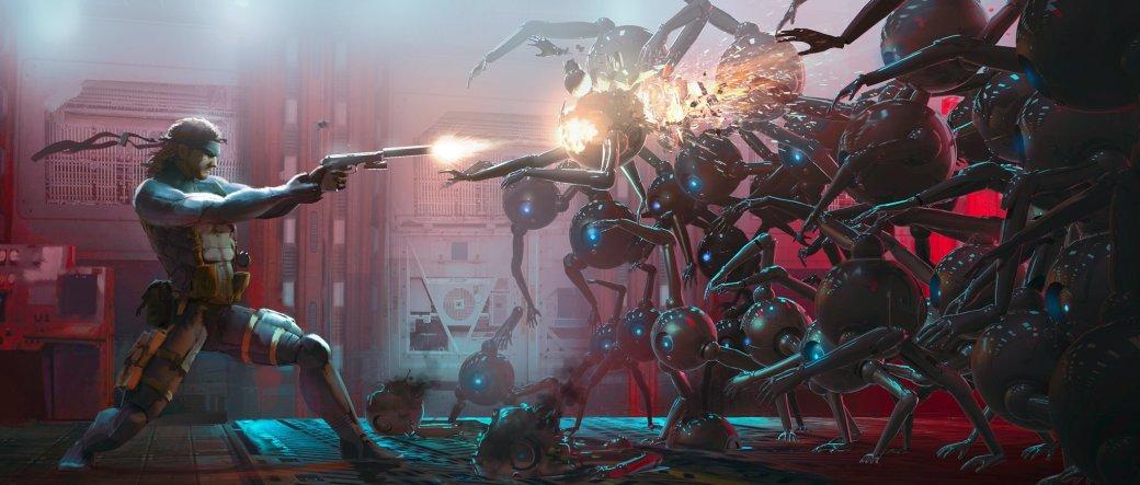 Замечательные фанарты к31-летию Metal Gear отрежиссера ееэкранизации | Канобу - Изображение 27