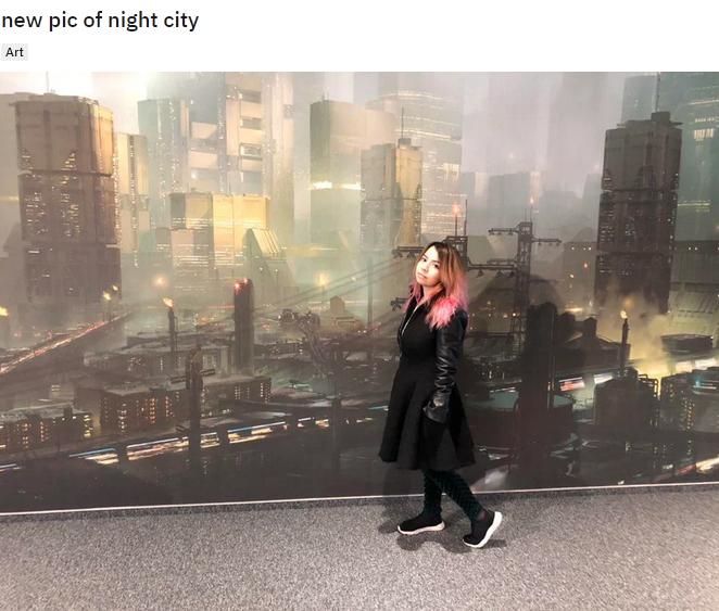 Фанаты Cyberpunk 2077 вырезали девушку сее собственного фото. Мешала рассмотреть концепт-арт | Канобу - Изображение 4367