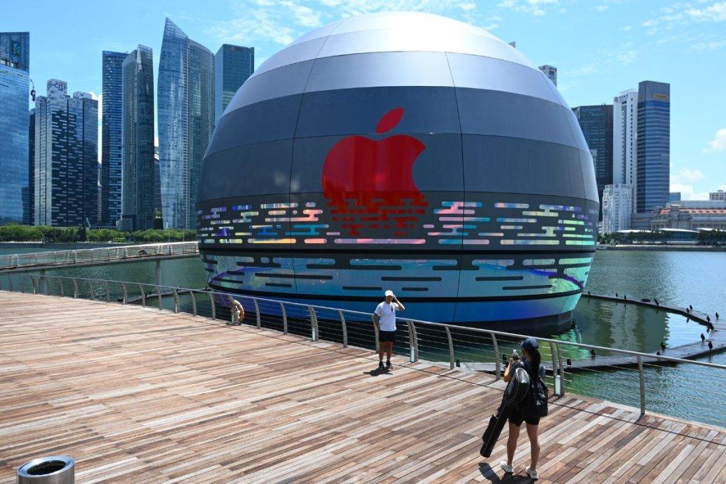 Фото дня: плавающий магазин-шар Apple Store вСингапуре   Канобу - Изображение 8075